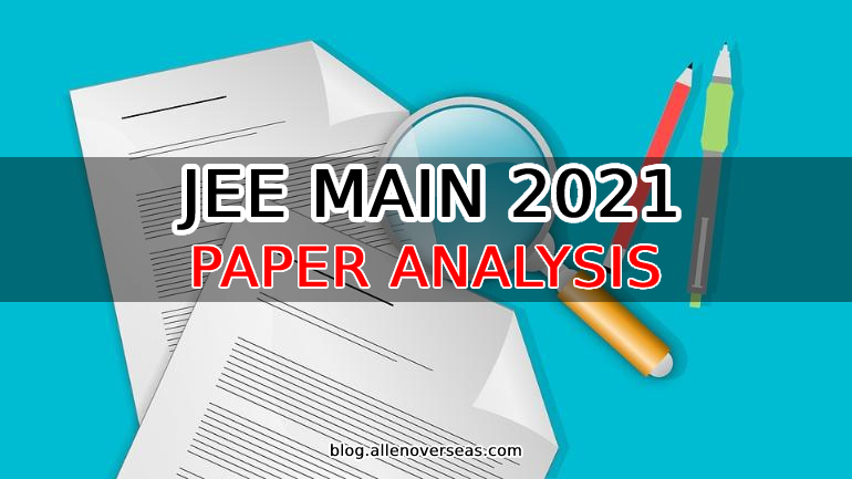 jee main 3rd attempt paper analysis 20 july